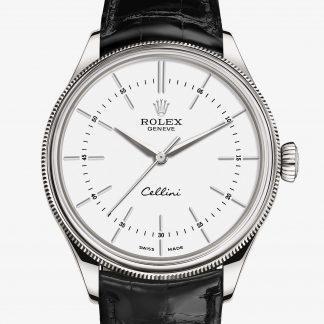 a buon mercato Rolex Cellini Bianco M50509-0016
