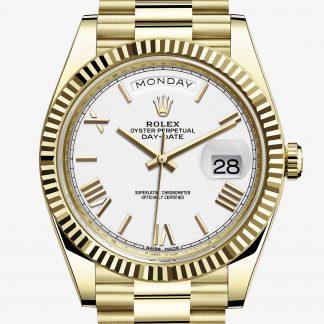 a buon mercato Rolex Day-Date Bianco M228238-0042