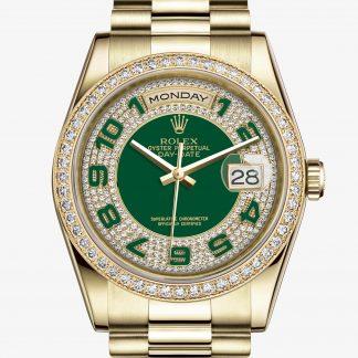 a buon mercato Rolex Day-Date Verde