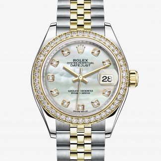 a buon mercato Rolex Lady-Datejust Madreperla bianca con diamanti M279383RBR-0019
