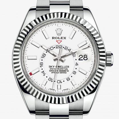a buon mercato Rolex Sky-Dweller Bianco M326934-0001