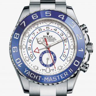a buon mercato Rolex Yacht-Master II Bianco M116680-0002