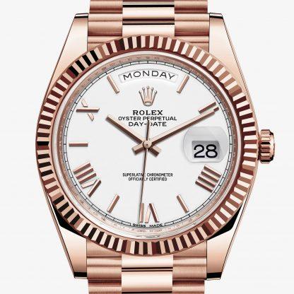 copia Rolex Day-Date Bianco M228235-0032