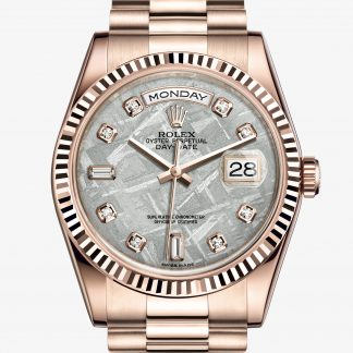 copia Rolex Day-Date Meteorite con diamanti M118235F-0026