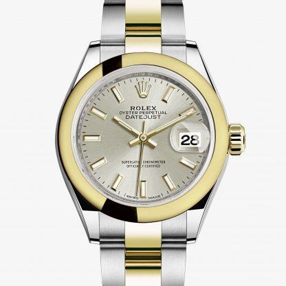 falso Rolex Lady-Datejust Argentato M279163-0020