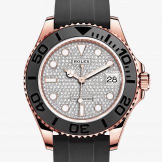 falso Rolex Yacht-Master Pavé di diamanti M268655-0006