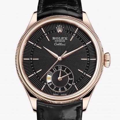 lusso Rolex Cellini Guilloché nero M50525-0011
