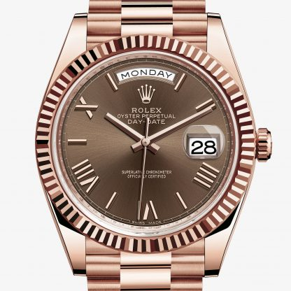 lusso Rolex Day-Date Chocolate M228235-0002