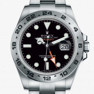 lusso Rolex Explorer II Nero M216570-0002