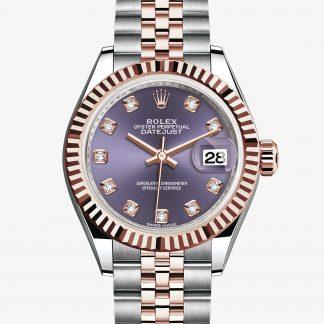 lusso Rolex Lady-Datejust Aubergine con diamanti M279171-0015