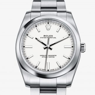 lusso Rolex Oyster Perpetual Bianco M114200-0024