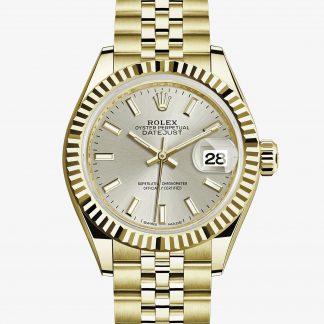 migliore Rolex Lady-Datejust Argentato M279178-0006