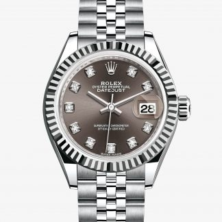 migliore Rolex Lady-Datejust Dark grey con diamanti M279174-0015