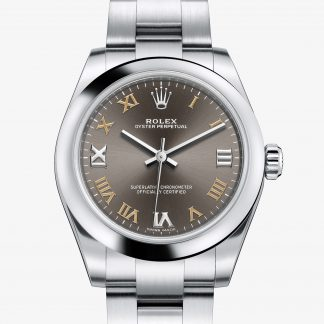 migliore Rolex Oyster Perpetual Dark grey M177200-0018