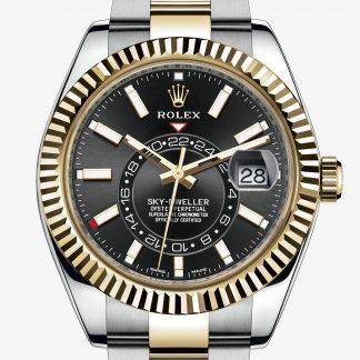 migliore Rolex Sky-Dweller Nero M326933-0002