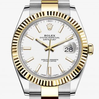 moda Rolex Datejust Bianco M126333-0015