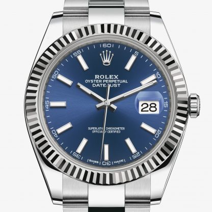 moda Rolex Datejust Blu M126334-0001