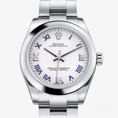 moda Rolex Oyster Perpetual Bianco M177200-0016