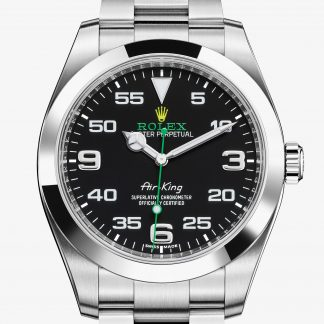 replica Rolex Air-King Nero M116900-0001