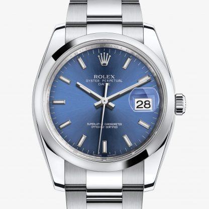 replica Rolex Date Blu M115200-0007