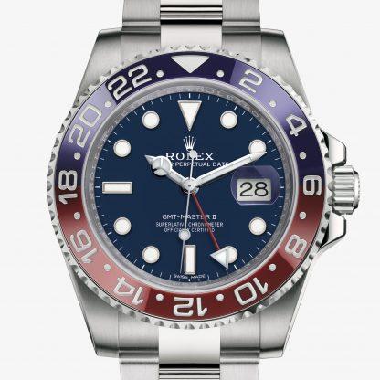 replica Rolex GMT-Master II Blu M116719BLRO-0002