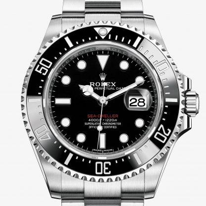 replica Rolex Sea-Dweller Nero M126600-0001