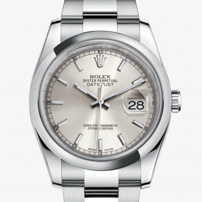 repliche Rolex Datejust Argentato M116200-0056