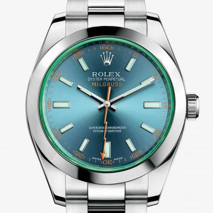 repliche Rolex Milgauss Blu Z M116400GV-0002