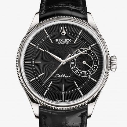 saldi Rolex Cellini Guilloché nero M50519-0007