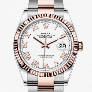 saldi Rolex Datejust Bianco M126231-0016