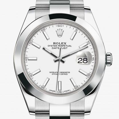 saldi Rolex Datejust Bianco M126300-0005