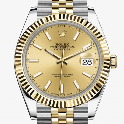 saldi Rolex Datejust Color champagne M126333-0010