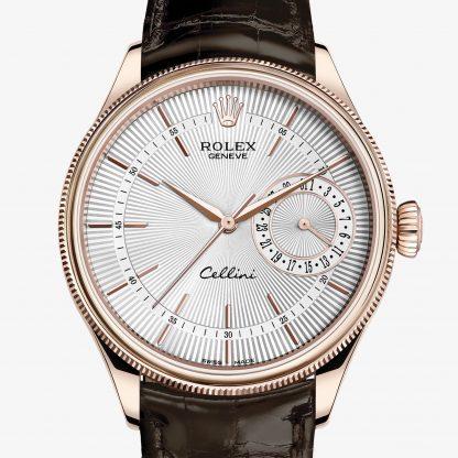 scontato Rolex Cellini Argentato guilloché M50515-0008