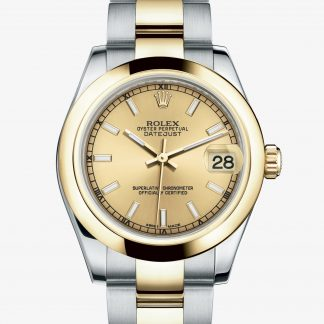 scontato Rolex Datejust Color champagne M178243-0008