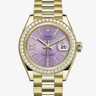 scontato Rolex Lady-Datejust Lilla con diamanti M279138RBR-0010