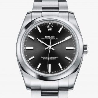 scontato Rolex Oyster Perpetual Nero M114200-0023