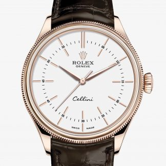 superiore Rolex Cellini Bianco M50505-0020