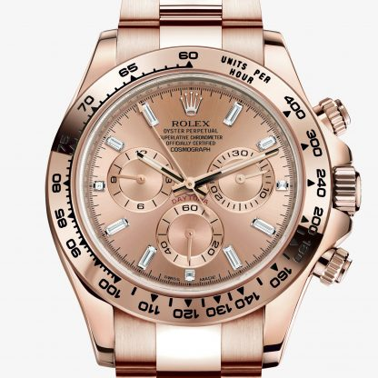 superiore Rolex Daytona Rosa M116505-0006