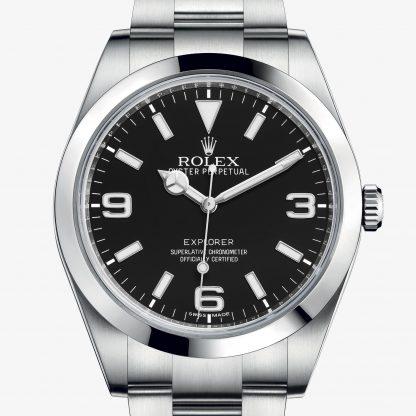 superiore Rolex Explorer Nero M214270-0003