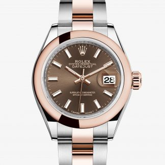 superiore Rolex Lady-Datejust Chocolate M279161-0018