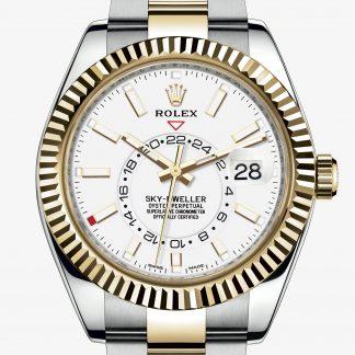 superiore Rolex Sky-Dweller Bianco M326933-0009