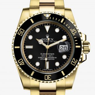 superiore Rolex Submariner Nero M116618LN-0001