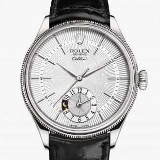 svizzero Rolex Cellini Argentato guilloché M50529-0006