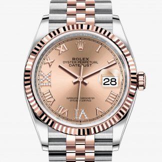 svizzero Rolex Datejust Rosa con diamanti M126231-0027