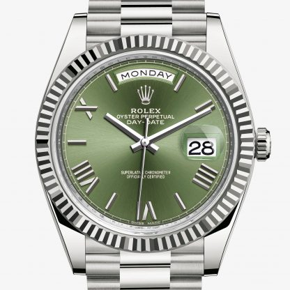 svizzero Rolex Day-Date Verde oliva M228239-0033