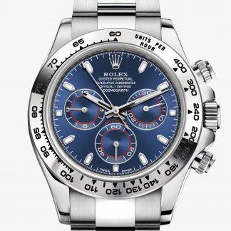 svizzero Rolex Daytona Blu M116509-0071