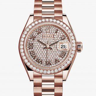 svizzero Rolex Lady-Datejust Pavé di diamanti M279135RBR-0021
