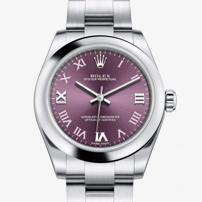 svizzero Rolex Oyster Perpetual Red grape M177200-0017